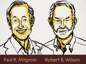 Economic Science Nobel Prize Winners Paul R Milgrom And Robert B Wilson For Improvements To Auction